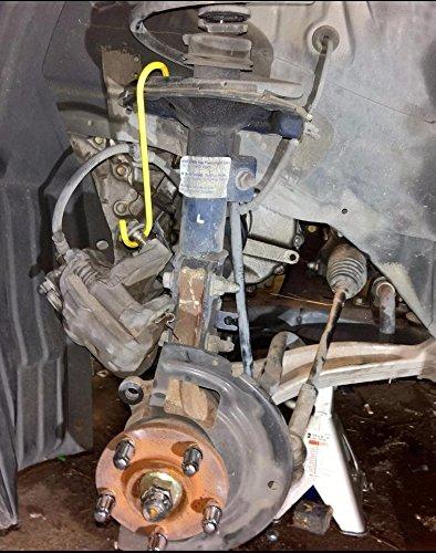 Axle and Suspension Work Bearing 8MILELAKE 4 Pcs Brake Caliper Hanger Brake Caliper Hooks for Brake
