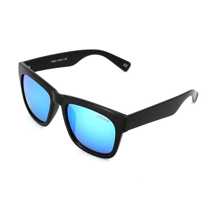 Gafas de sol cuadradas para hombre mujer UV400 Lentes Azules ...