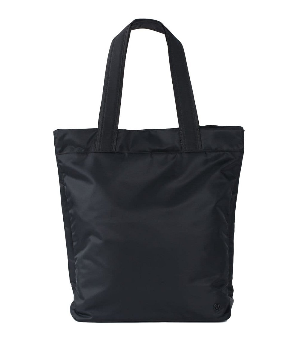Lululemon - Double Up Tote Bag - Black O/S