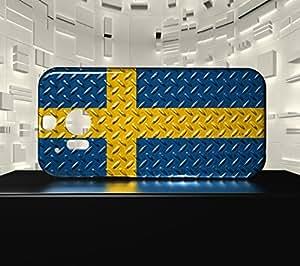 Funda Carcasa para HTC M8 Bandera SUECIA 05