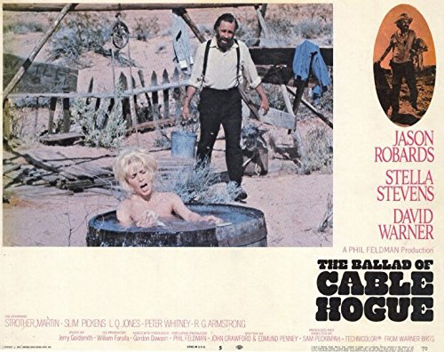 The Ballad of Cable Hogue POSTER Movie (1970) Style D 11 x 14 Inches - 28cm x 36cm (Jason Robards Jr.)(Stella Stevens)(David Warner)(L.Q. (Justus E. McQueen) Jones)(Strother Martin)(Slim (Cable Hogue Poster)