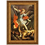 Design Toscano Archangel St. Michael Canvas Replica Painting: Large