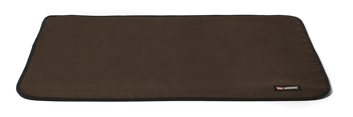 Coffee Suede 2X-Large Coffee Suede 2X-Large Big Shrimpy Landing Crate Pad, 2X-Large, Coffee Suede