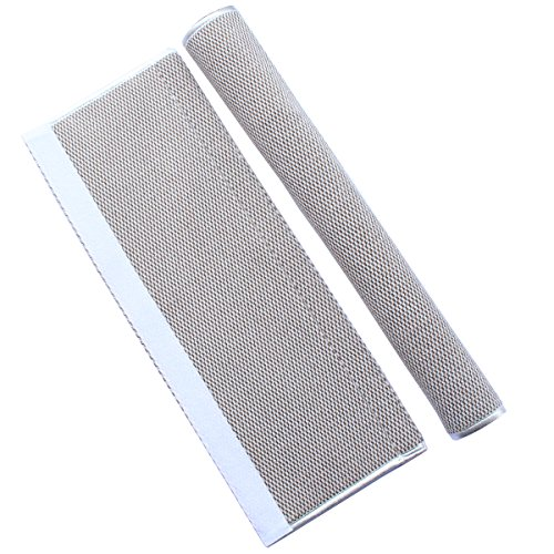 """OUGAR8 Refrigerator Door Handle Covers Protective Electrical Kitchen Appliances Gloves Fridge Microwave Dishwasher Door Cloth Protector-Catches Drips,Fingerprints Dust Covers (12"""" L4 W, Gray Plush)"""
