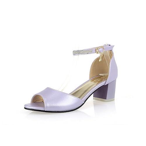 Sandalias Para De Moradotalla Vestir R35j4alq 34 Adee Mujercolor f7gb6yY