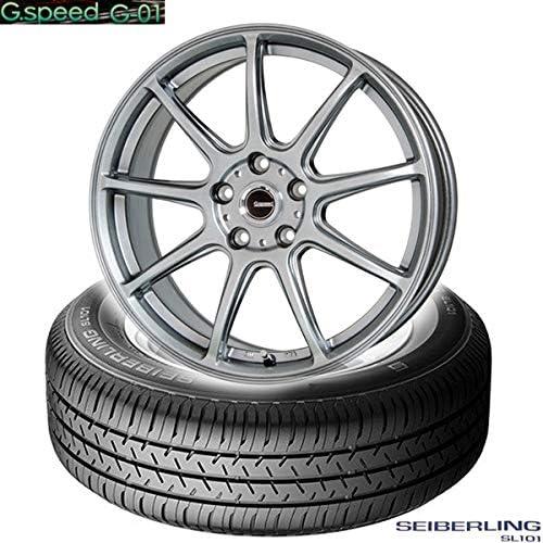 ブリジストン製|セイバーリング SEIBERLING SL101〈185/65R15 88S〉&G.speed G-01〈15×6.0 +53 114.3 5H〉|タイヤホイール4本セット