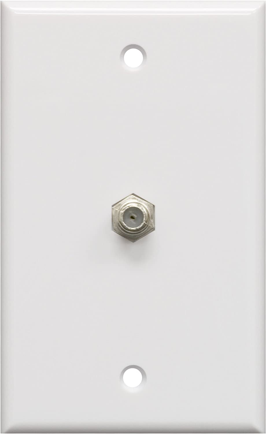 GE 40050 Coaxial Cable Wall Plate