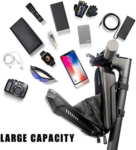 Sac de Trottinette Électrique, Faireach Sac de Rangement pour Scooter Étanche Sacoche Guidon de Grande Capacité pour Xiaomi M365 Segway Ninebot E ES1/ES2/ES3/ES4