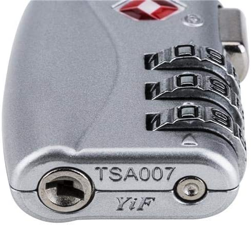 SLINGER TSA 3-Dial Combination TSA Lock Red