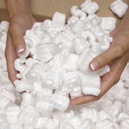 1 Cu Ft White Packing Loose Fill Peanuts Anti Static