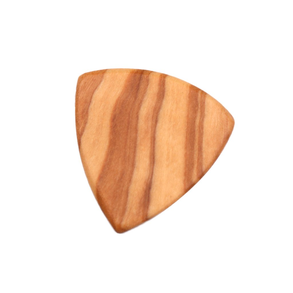 Sharplace Guitare Médiators en Bois Picks Guitare Acoustique 2mm Bois d'Olive Médiators