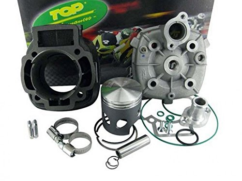9931270 GRUPPO TERMICO TOP TROPHY 70CC D.48 APRILIA SR R (carb.) 50 2T LC (PIAGGIO) SP.12 GHISA BLACK TOP PERFORMANCE.