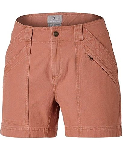 Billy Goat Cotton Shorts - Royal Robbins Women's Backcountry Billy Goat Canvas Short,Pale Coral,US 4