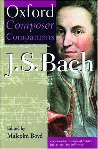 Oxford Composer Companion: J.S. Bach (Oxford Composer Companions) by Oxford University Press
