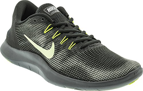Herren Run Flex 2018 cool Anthracite Chaussures Nike Hommes Volt Barely Comptition Grey Laufschuh RqZwC1Cx