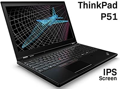LENOVO 2017 THINKPAD P51 LAPTOP (KABY LAKE CPU): 15.6 FHD IPS, INTEL i7-7700HQ (7TH GEN), 16GB RAM, 500GB, NVIDIA QUADRO M1200M (4GB), WIN 10 PRO, BLACK