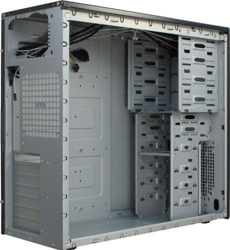 Inter-Tech CK-30 - Caja de Ordenador (Midi-Tower, PC, ATX, uATX, 80, 92, 120 mm, 12 cm, 43,8 cm) Negro: Amazon.es: Informática