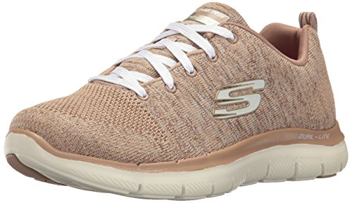 Skechers Sneaker Womens Appel Flex 2.0 Naturel Taupe