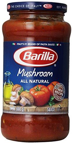 Barilla Spaghetti Sauce - Barilla Pasta Sauce, Mushroom, 24 oz