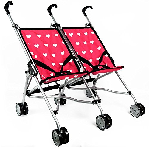 Toy Baby Doll Umbrella Stroller - 4