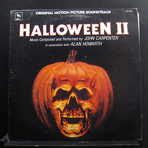John Carpenter & Alan Howarth - Halloween II (Original Soundtrack) - Lp Vinyl Record]()