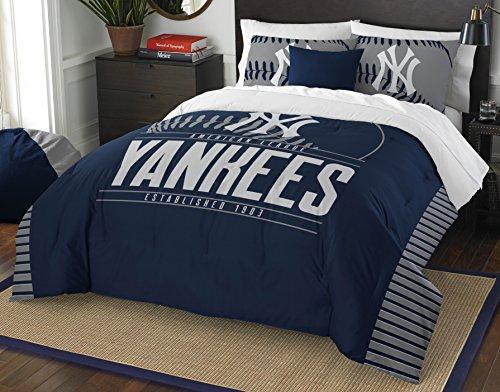 - MLB New York Yankees Grandslam Full/Queen Comforter and 2 Sham Set