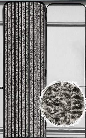Taupe Beige, 90 x 210 cm Anti-Insectes Grand Choix de Couleur Protection de Vos espaces int/érieurs Longueur et Largeur Ajustables MadeInNature Rideau de Porte Chenille de qualit/é sup/érieure
