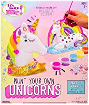It's So Me! Paint Your Own Unicorns by Horizon Group USA, Paint & Decorate 2 Plaster Unicorns, Include