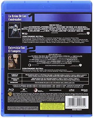 Pack Entrevista Con El Vampiro + La Reina De Los Condenados Blu-Ray Blu-ray: Amazon.es: Brad Pitt, Tom Cruise, Antonio Banderas, Stuart Townsend, Aaliyah, Neil Jordan, Michael Rymer, Brad Pitt, Tom Cruise, Su