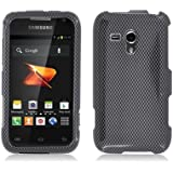 Aimo SAMM830PCIM006 Durable Hard Snap-On Case for Samsung Galaxy Rush M830 - 1 Pack - Retail Packaging - Carbon Fiber
