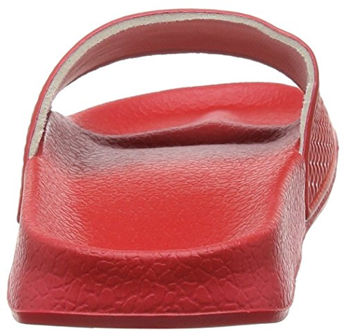 Red Mujer F Chanclas Rojo para Red Slydes Cherry Logo wY7q11