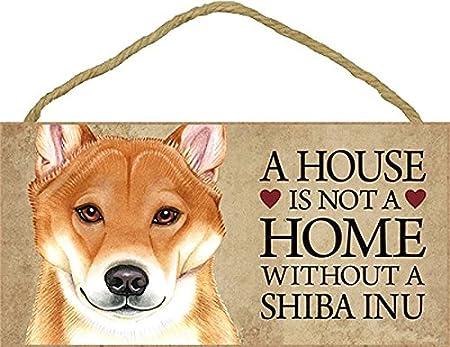 Amazon.com: Una Casa No Es Un Hogar Sin Shiba Inu Perro ...