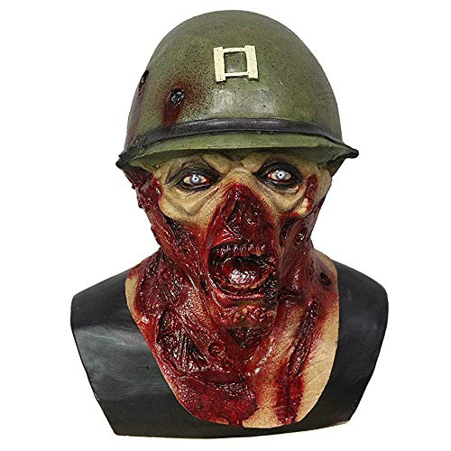 Captain Leister Mask - Scary Japanese Mask Captain Leister Rotted