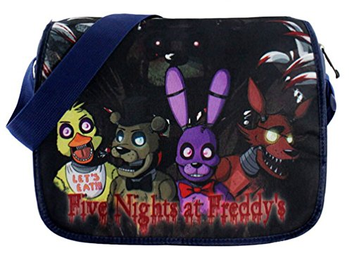 [Kayisamo Five Nights at Freddy's Cosplay Handbag Shoulder Bag Backpack Messenger Bag] (Freddy Fazbear Cosplay Costume)