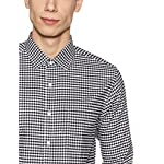 Diverse Men's Checkered Regular Fit Cotton Formal...