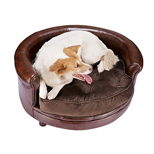 3600 Deluxe Pet Bed Brown