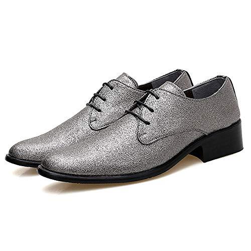 De Con Calzado Moda Zapatos Cordones Elegante Low Oxford Masculina Informal Personalidad Gby Hombres Top Colorido Conducción Bronze Formales Zqv6Ww