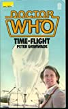 Doctor Who: Time Flight by Peter Grimwade front cover