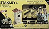 Stanley Jr. 2 Wood Kits & 5 PC Tool Set