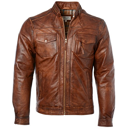 Ashwood Ashwood Giacca Leather Leather Uomo qBwSXq