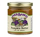 Jake & Amos Naturally Sweet Pumpkin Butter 9 oz. (3 Jars)