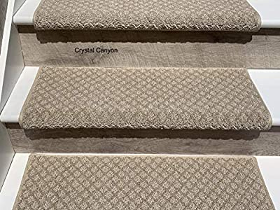 Oak Valley Designs Carpet Stair Treads - Style: Bayside Charm