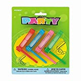 Spinning Noisemaker Party Favors, Assorted 4ct