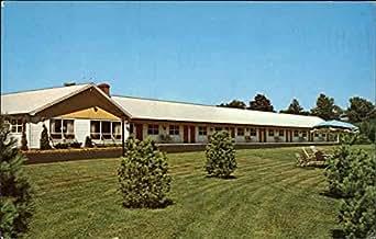 Fairway Motor Lodge Augusta Maine Original Vintage