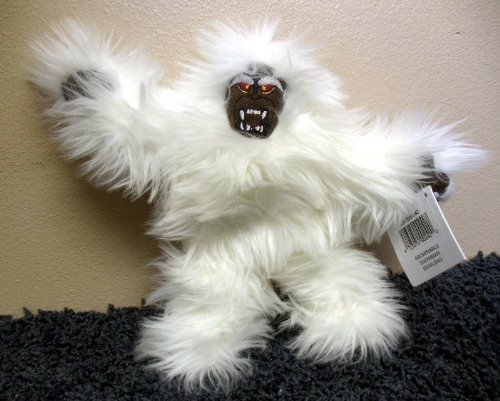 "Matterhorn Disneyland Abominable Snowman 8"" Plush Bean Bag Plush MWMT"