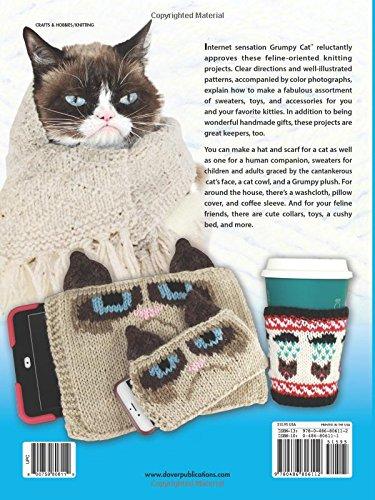 Grumpy Kitty PDF amigurumi crochet pattern by edafedd on Etsy ... | 500x375