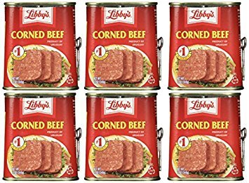 Libby's, Imported Corned Beef, 12oz Can (Pack of 5)