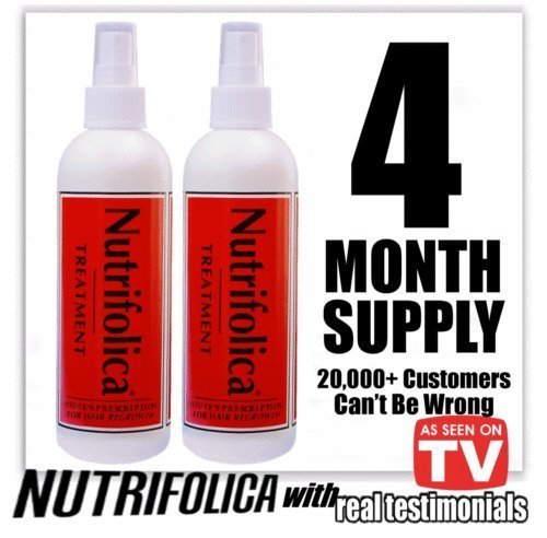 Nutrifolica Hair Loss Treatment & Accelerator - 4 Month Supply