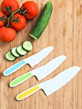 Tovla Jr. Knives for Kids 3-Piece Nylon Kitchen