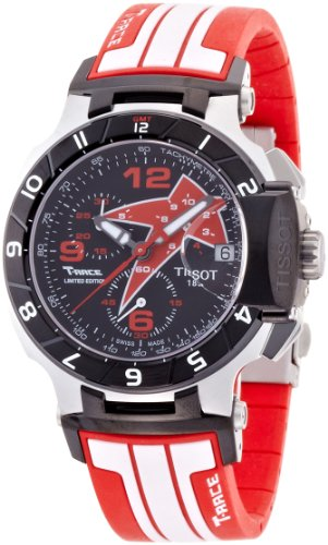 Tissot Nicky Hayden 2012 Limited T-Race Black Mens Watch T0484172705708
